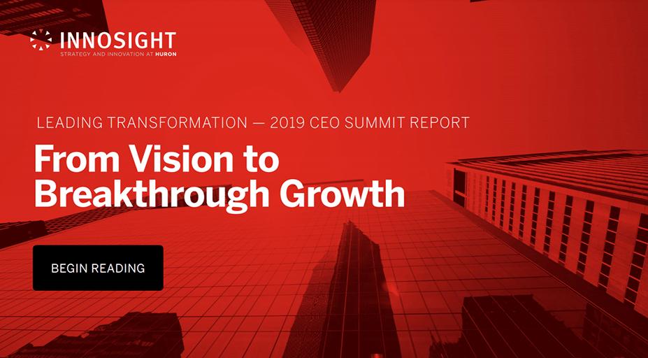 Leading Transformation: 2019 Innosight CEO Summit Report